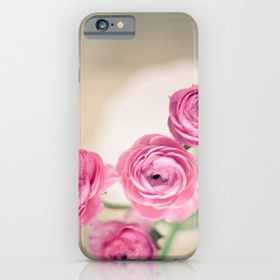 Ranunculus in Morning Light iPhone & iPod Case