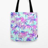 Maui Palm {Pink} Tote Bag