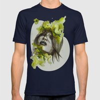 Eva by carographic, Carolyn Mielke Mens Fitted Tee Navy SMALL