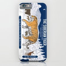 The Wild Ones: Siberian Tiger (info) iPhone 6 Slim Case