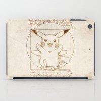 Vitruvian Mon iPad Case