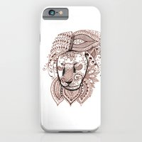 iPhone & iPod Case featuring Lion by Elisa Camera