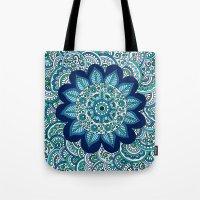 Ocean Flower Tote Bag