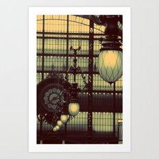D'Orsay Museum, Paris Art Print