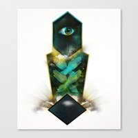 Crystal Visions Canvas Print