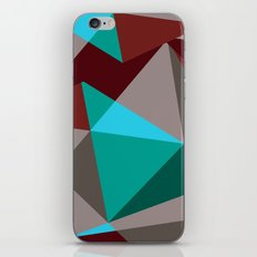 Triangle cubes iPhone & iPod Skin