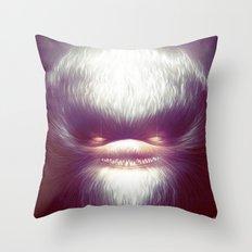 Smooth Fine Evil Throw Pillow