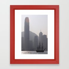 The Lost Pirate Framed Art Print