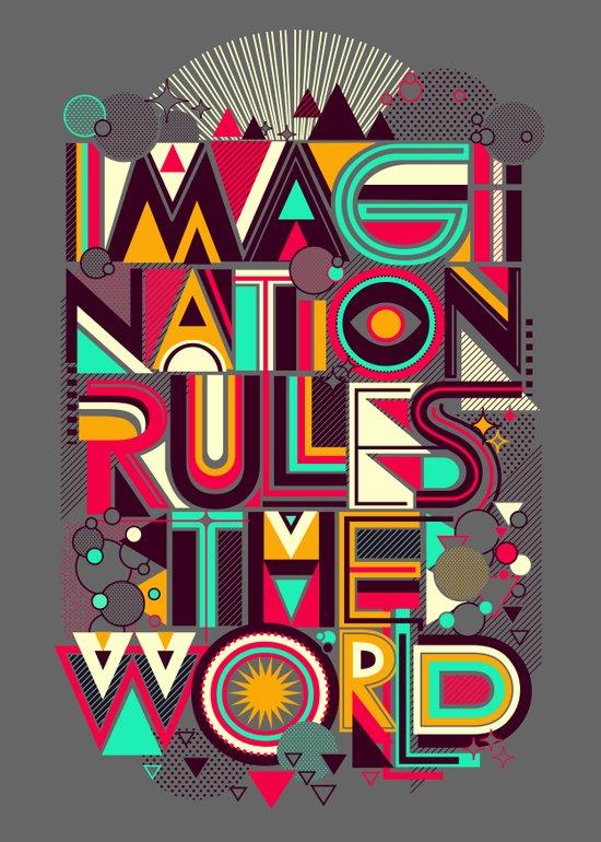 IMAGINATION Art Print