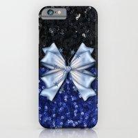 Brilliant Black and Blue  iPhone 6 Slim Case