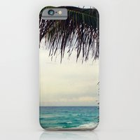 iPhone & iPod Case featuring Sea and Palm  by Beach Bum Chix