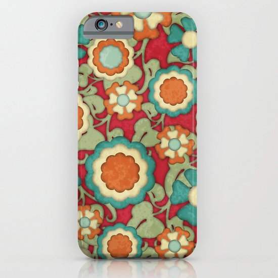 Autumn Floral iPhone & iPod Case