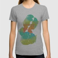 Hourglass Womens Fitted Tee Athletic Grey SMALL