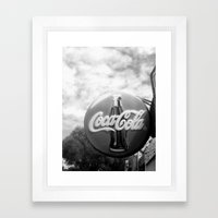Coca Cola  Framed Art Print