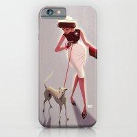50s dogwalker  iPhone 6 Slim Case