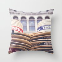 Venezia II Throw Pillow