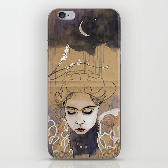 son bahar iPhone & iPod Skin