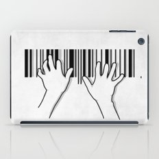 Barcode Pianist iPad Case