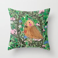 Nature Is Within Us Throw Pillow