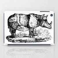 Vintage Rhino iPad Case