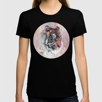 Illusive By Nature Womens Fitted Tee Black SMALL
