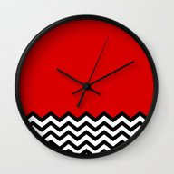 Black Lodge Dreams (Twin… Wall Clock