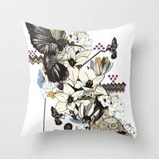 Hummingbird River Throw Pillow