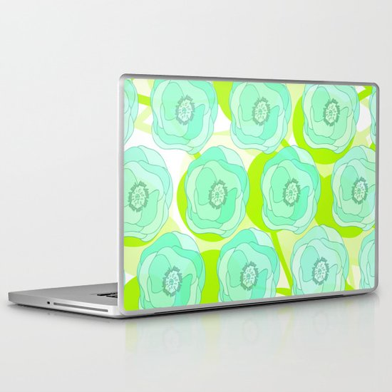 Mint Ombra Laptop & iPad Skin
