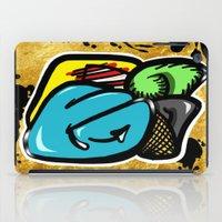 Digital Abstract Graffit… iPad Case