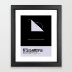 Shawshank Redemption Framed Art Print