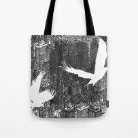 Ecotone (black & White) Tote Bag