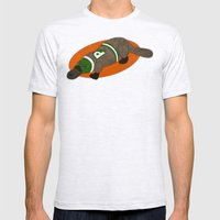 Platypus Mens Fitted Tee Ash Grey SMALL
