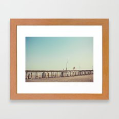 Love Bridge Framed Art Print