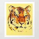 My Tiger Art Print