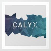 CALYX SPACETRAVEL Art Print