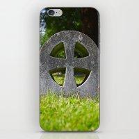 Stone Cross iPhone & iPod Skin