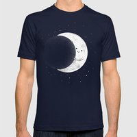 Slideshow Mens Fitted Tee Navy SMALL