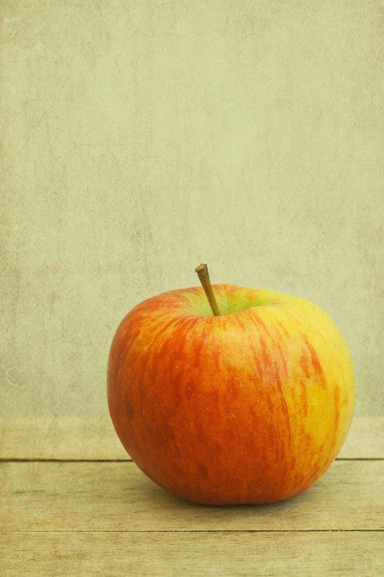 just an apple Canvas Print