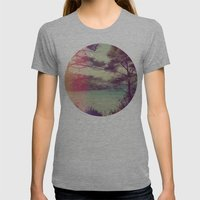 French Beach Womens Fitted Tee Athletic Grey SMALL