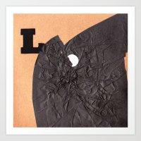 L word Art Print