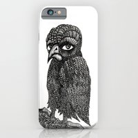 iPhone & iPod Case featuring Morbid bird by ronnie mcneil