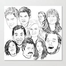 Parks And Recreation 'Re… Canvas Print