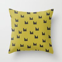 Playground Crown 03 Throw Pillow