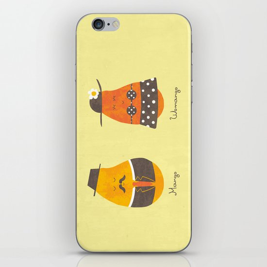 Fruit Genders iPhone & iPod Skin