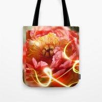 Enchanting Peony Tote Bag