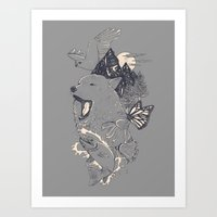 Northern Americana  Art Print