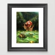The Kraken! Framed Art Print