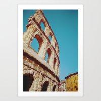 Verona Arena Art Print