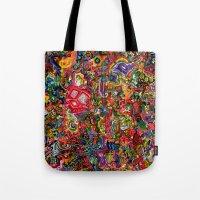 Planetary Funk Tote Bag