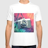 Diana F+ Mens Fitted Tee White SMALL